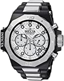 Invicta Men's 'Akula' Quartz Stainless Steel Casual Watch, Color:Silver-Toned (Model: 23098)