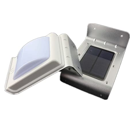 2 X 16 LED Luz solar, Luz pared, Aplique de pared, Cadena de