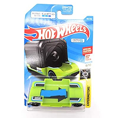 Hot Wheels EXPERIMOTORS 4/10, Green Zoom in 103/250: Toys & Games