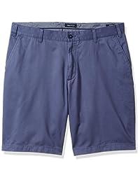 Nautica - Pantalón Corto de algodón para Hombre, diseño de Sarga