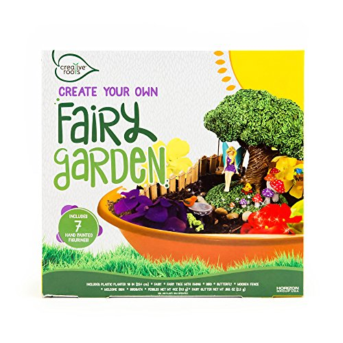 Creative Roots Create Your Own Fairy Garden by Horizon Group USA (Kit Garden Craft)