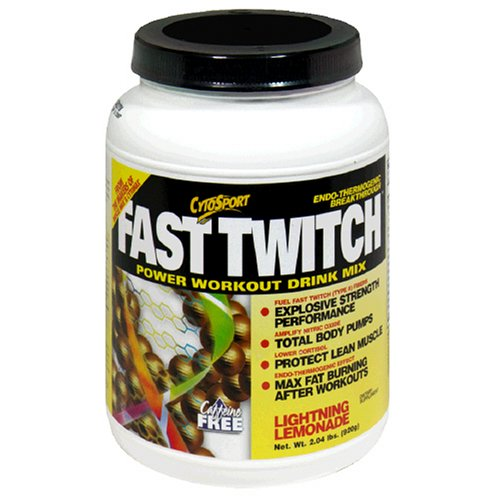 CytoSport Puissance rapide Twitch Workout Mix Drink, Lightning Lemonade, 2,04 Euro