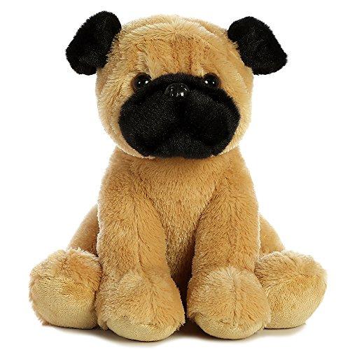 Pugster Puppy (Aurora 11 Sitting Pugster Puppy Plush Stuffed Animal)