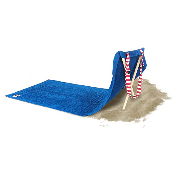 Amazon.com: Origama American Eagle - Beach & Pool Towel with backrest. Beach Towel, Beach Chair and Sun Lounger in one Product for Kids & Adults.