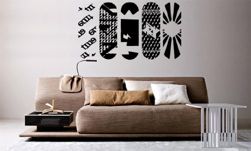 - Wall Mural Vinyl Sticker Decal Snowboards al725