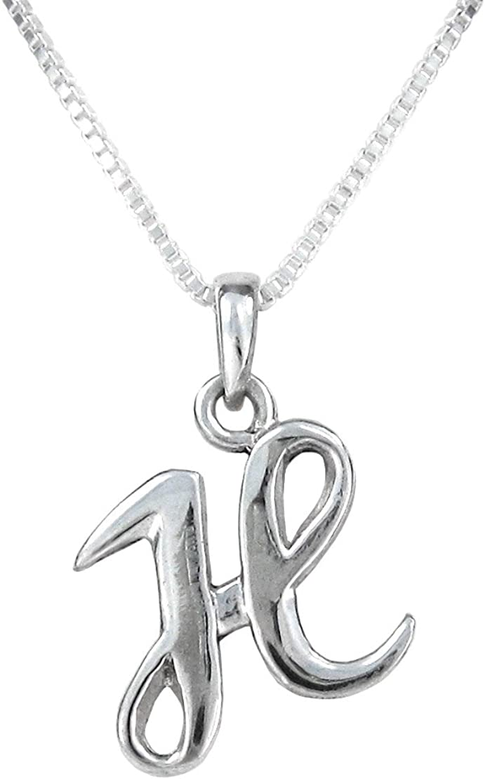 Mireval Sterling Silver Laser Designed Cross Charm on a Sterling Silver Carded Box Chain Necklace 18