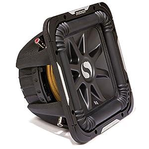 """Kicker S15L7 Car Audio Solobaric L7 Square 15"""" Sub Dual 2 Ohm 2000W 11S15L72 Subwoofer L7S15"""