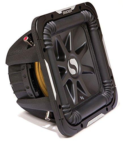 Kicker S15L7 Car Audio Solobaric L7 Square 15'' Sub Dual 4 Ohm 2000W 11S15L74 Subwoofer L7S15