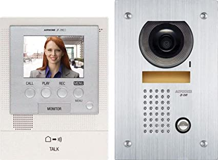 Aiphone JFS-2AEDF Audio/Video Intercom System with Flush-Mount Door Station with