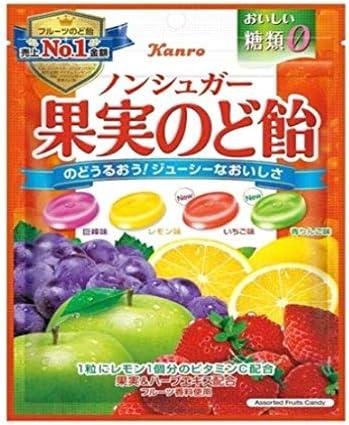 Amazon | カンロ ノンシュガー果実のど飴 90g×6袋 | カンロ | あめ ...