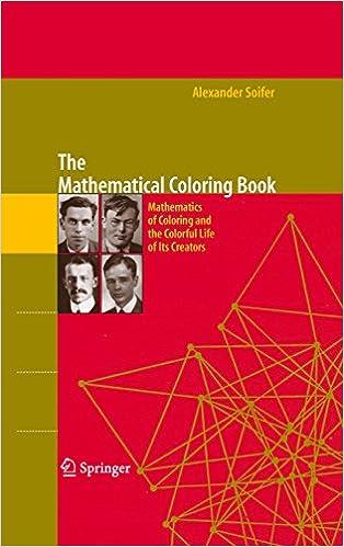 the mathematical coloring book soifer alex ander rousseau cecil johnson jr peter d grnbaum branko
