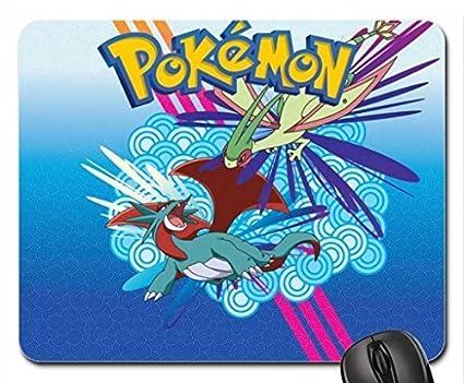 Hot pokemon3 equipo rocket ser mi ordenador celular destino Deoxy Pokemon Mouse Pad, Mousepad (