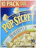 Pop Secret Homestyle Popcorn, 10-Count Box