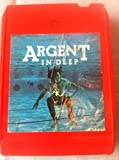 ARGENT In Deep 8 track tape 1973 Original Rod Argent Zombies