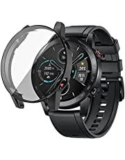 360 Degree Full Protection Cover for Honor Magic2 46mm Black Color Not Fit for Other Smart Watch Type No Watch Display , 2725605917413