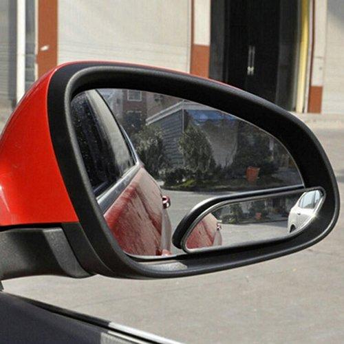 Baost 2 espejos retrovisores universales para coche, gran angular, para puntos ciegos, retrovisores, retrovisores y...