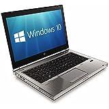 """HP EliteBook 8470p 14.1"""" 3rd Gen i5-3320M 4GB 320GB DVDRW USB 3.0 Windows 10 Professional 64-bit (Certified Refurbished)"""