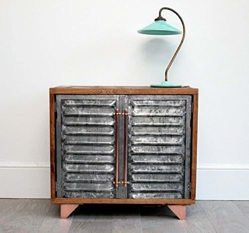 Exterior: Amazon.com: Vintage Industrial Bar/console With Parquet