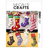 McCall's Patterns M2991 Christmas Stockings, One Size Only