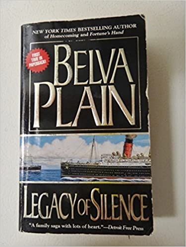 Legacy Of Silence Plain Belva 9780440226406 Amazon Com Books