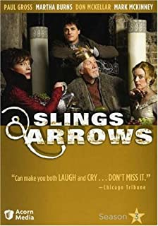 Image result for slings and arrows