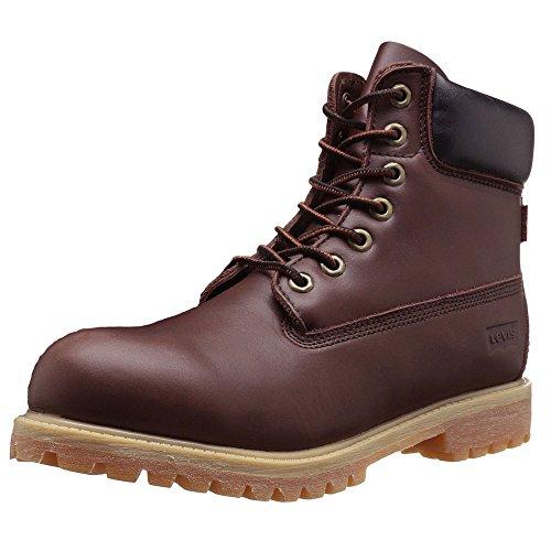 Levis Men's Harrison LE Engineer Boot, Brown, 9 M US