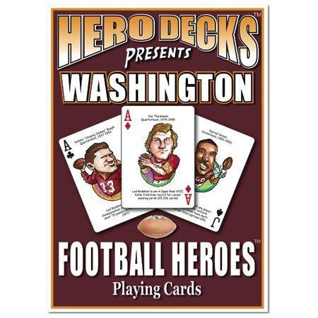 (Hero Decks - Washington Redskins - Playing Cards)