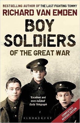 Book Boy Soldiers of the Great War 1st edition by van Emden, Richard (2013)