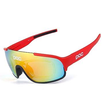 Aili Gafas De Sol Deportivas, UV 400 Protección Gafas ...