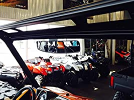 16.5 Extra Wide Panoramic Rear View Mirror for 2015 NOT FOR ROUND ROLL BAR UNITS. Polaris 570 w// Lock n Ride cab