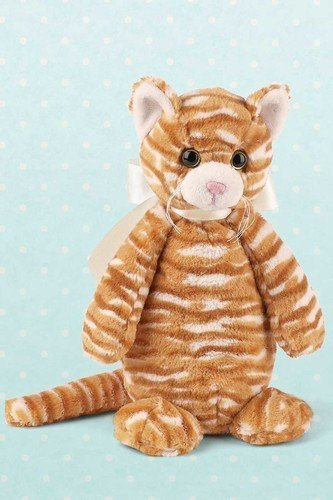 "Bearington Orange Tabby ""Butterscotch"" 10"" Baby-Safe Plush Doll from Bearington Bears"