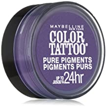 MAYBELLINE COLOR TATTOO PURE PIGMENTS EYE SHADOW #15 POTENT PURPLE