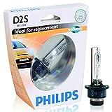 Philips D2S Vision Xenon HID headlight bulb, 1 pack 85122VI