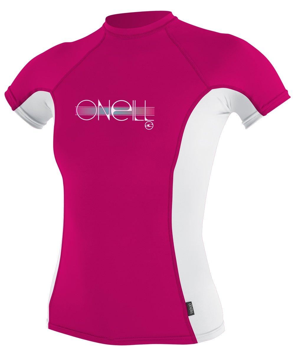 ONeill Wetsuits Girls UV Sun Protection Toddler Skins Short Sleeve Tee Rashguard