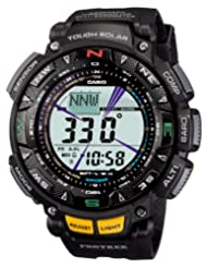 CASIO watch PROTREK Triple Sensor tough solar 2-tier LCD model PRG-240-1JF mens watch (japan import)