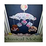 1993 Judi's Calico & Bows Musical Mobile