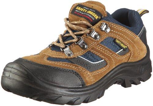 Safety Jogger - Calzado de protección de cuero nobuck para hombre Marrón