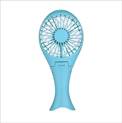Amazon.com: Xiujie Mini Fan Mini Fan USB Mermaid Fan Small ...