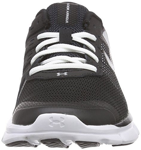 Under Armour Womens Name W Micro G Vlugge Snelheid Loopschoenen Zwart (blk / Wht / Wht 1)
