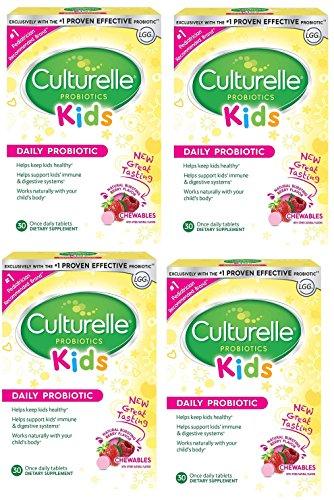 Culturelle Kids Chewables Daily Probiotic Formula, 120 tablets by Culturelle