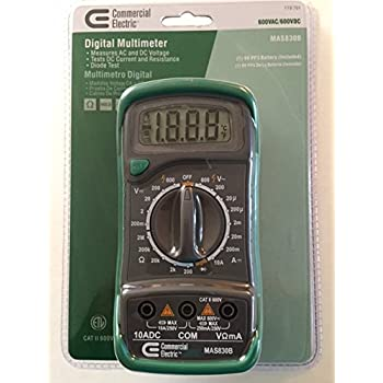 Digital multimeter MAS830 - YouTube