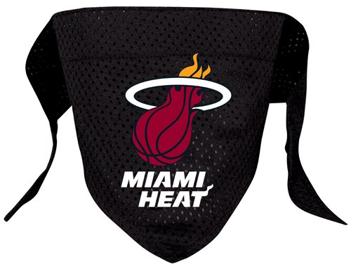 Hunter MFG Miami Heat Mesh Dog Bandana, Large, My Pet Supplies