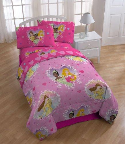 Aurora Bedding (Disney Princess Twin Size Comforter - Belle, Aurora and)