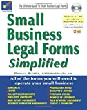img - for Small Business Legal Forms Simplified: The Ultimate Guide to Business Legal Forms (Small Business Legal Forms Simplified (W/CD)) by Daniel Sitarz (2011-06-16) book / textbook / text book
