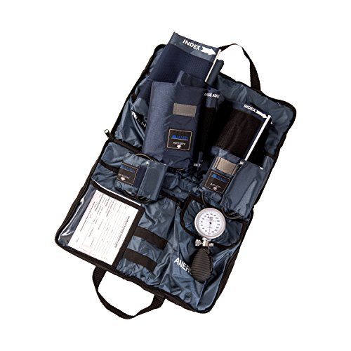 MABIS Medic-Kit5 EMT and Paramedic First Aid Kit with 5 Calibrated Nylon Blood Pressure Cuffs, Blue by MABIS DMI Healthcare (Image #5)