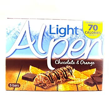 Amazon alpen light bars chocolate and orange 5 pack 105g alpen light bars chocolate and orange 5 pack 105g aloadofball Image collections
