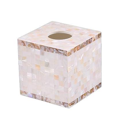 Xiaoyu Caja De Pañuelos, Portapañuelos De Papel Kleenex para Funda para Caja De Pañuelos Caja