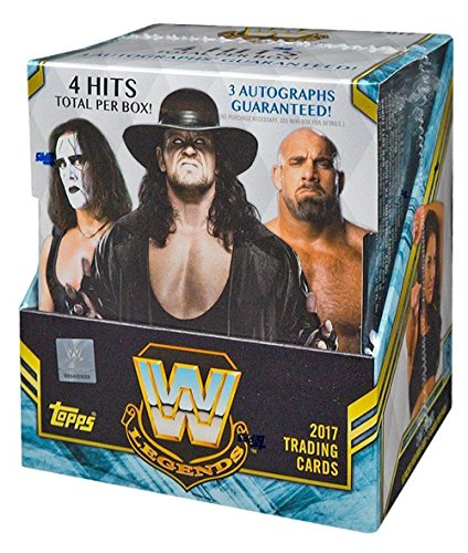 Box Hobby Legends - 2017 Topps WWE Legends Wrestling HOBBY box (12 pk)