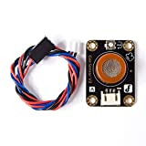 Miss Flora Angelelec DIY Open Sources GAS Sensor, Analog Alcohol Sensor (MQ3)- Detect Alcohol, Ethanol and Other Gases Very Sensitively Can be Adjusted by a Small Onboard Potentiometer