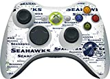 xbox 360 nfl controller cover - NFL - Seattle Seahawks - Seattle Seahawks - Blast White - Skin for 1 Microsoft Xbox 360 Wireless Controller